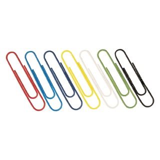 Coloured Paperclips 32mm (1000 Pack)