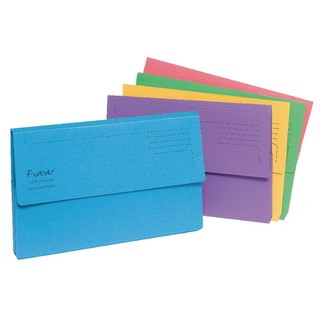 Forever Bright Assorted Document Wallet (25 Pack) 211/5