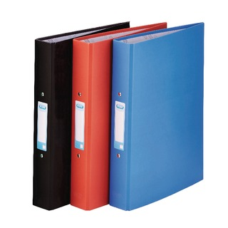 A4 Assorted 25mm Paper Over Board Ring Binder (10 Pack) 400033510