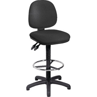 Draughtsman Charcoal Chair