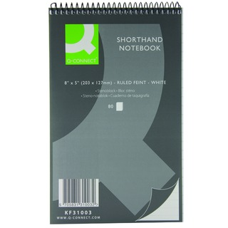 White Shorthand Notebook 80-Sheet (20 Pack)