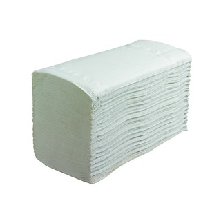 Performance Hand Towels Interfolded 1-Ply White (4500 Pack) 6659