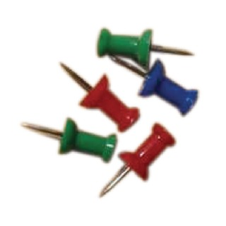 Push Pins Assorted (20 Pack) 204