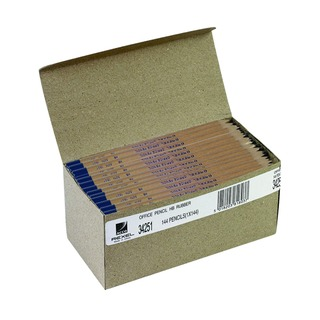 Office HB Pencils Natural Wood (144 Pack)