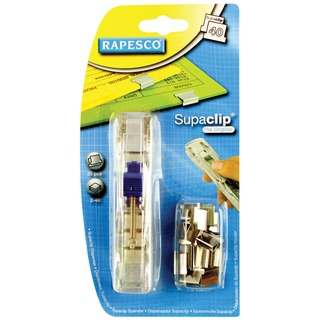 Supaclip 40 Dispenser Stainless Steel