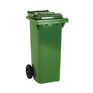 2 Wheel Green Refuse Container 80 Litre 3312