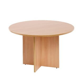 Round Meeting Table Beech