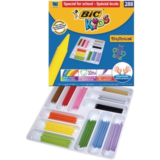 Kids Plastidecor Colouring Crayons Class (288 Pack) 887835