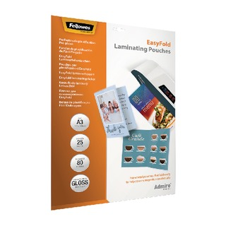 Admire EasyFold A3 Laminating Pouches 160 Micron (25 Pack) 5602001