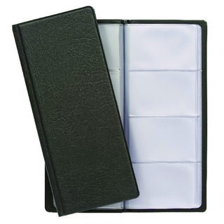 Classic Black Business Card Holder Capacity 128 CBC4P