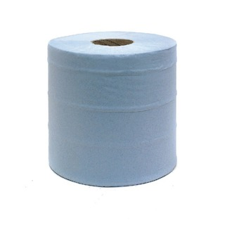 2-Ply Blue Centrefeed Hand Wiper 150 Metres (6 Pack) 110509