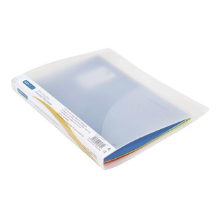 A4 Plus 15mm 2 Ring Binder Clear (10 Pack) 0923