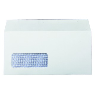 DL Window Envelope 100gsm Self Seal White (1000 Pack) 7138