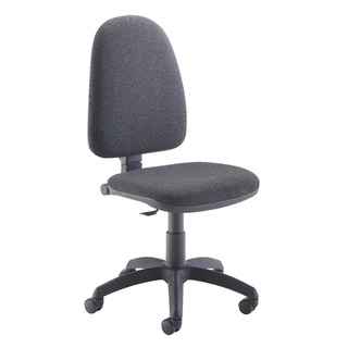 High Back Operator Charcoal Chair