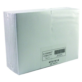 Scribble Pad 148 x 105mm 160 Pages Plain (20 Pack)