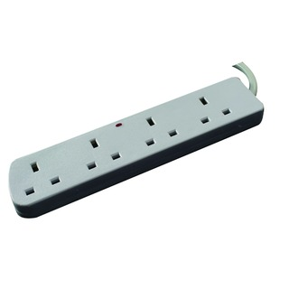 4-Way Extension Lead 13amp 5m CEDTS4513F