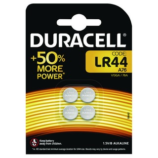 LR44 Alkaline Button Batteries Pack of 4 A76/4