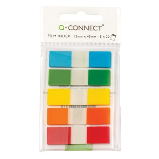 Assorted 1/2 Inch Page Markers (130 Pack)