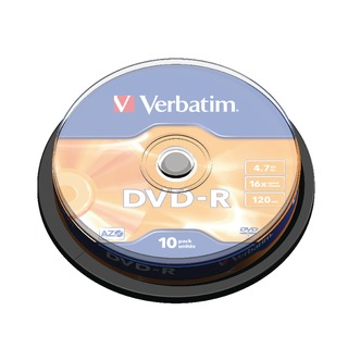 4.7GB 16x Speed Spindle DVD-R (10 Pack) 4