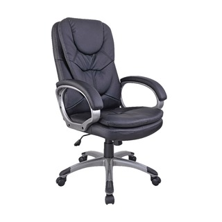 Murcia Leather Look Executive Black Chair