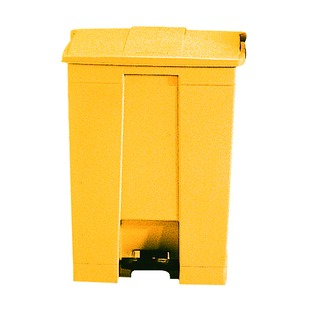 30.5L Step-On Container Yellow 32430
