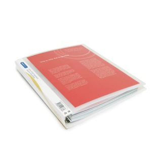 Presentation 4 Ring A4 Binder 25mm Clear (10 Pack)