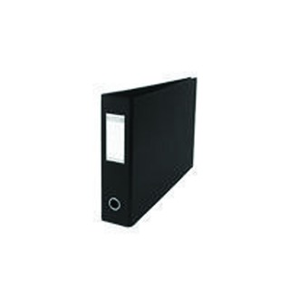 A3 70mm Black Plastic Lever Arch File (2 Pack) 40000844