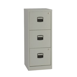 3 Drawer Grey A4 Personal Filing Cabinet