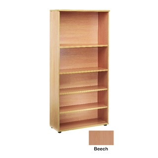 4 Beech Shelf 1800mm Bookcase