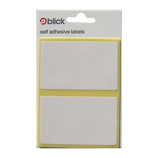 White 50x80mm Label Bag (280 Pack) RS000457