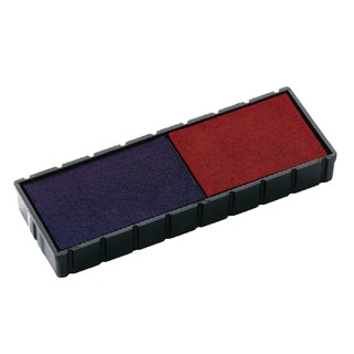 E/12/2 Replacement Stamp Pad Blue/Red (2 Pack) E/12/2