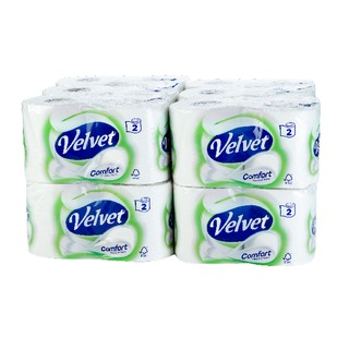 White 2-Ply Toilet Roll (24 Pack) 1102088