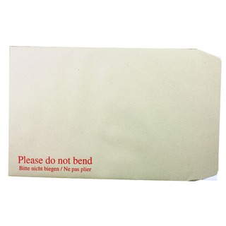 Board Back C4 Envelope 115gsm Manilla Peel and Seal (125 Pack)