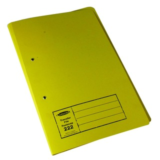 Foolscap Yellow Transfer File (25 Pack) 346-YLWZ