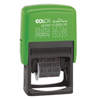 S220/W Green Line Dial-A-Phrase Stamp GLS220W