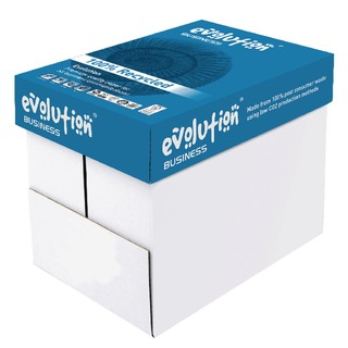 White A4 Business Recycled Paper 80gsm (2500 Pack) EVBU21