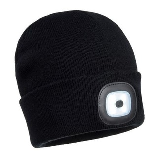 Portwest Beanie LED Head Light USB Rechargeable