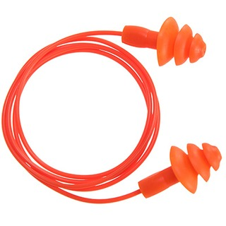 Reusable Corded TPR Ear Plug (50 Pairs)