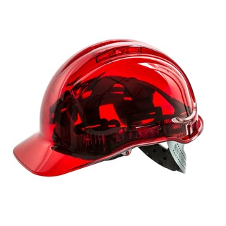 Peak View Plus Hard Hat Red