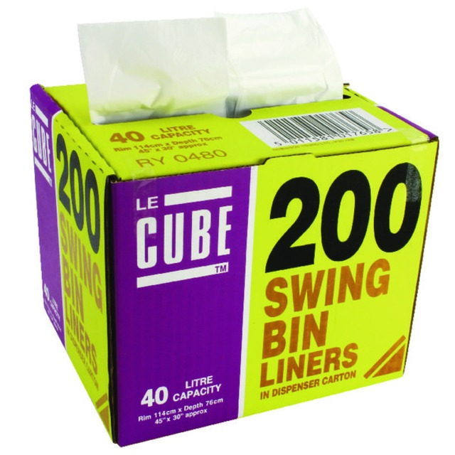 46 Litre Swing Bin Liner Dispenser (200 Pack) 048